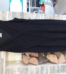 Crna haljina bez rukava