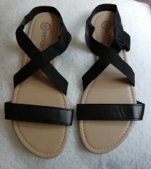 Crne ženske sandale Esmara (novo)