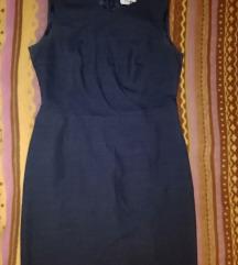M tamno plava haljinica