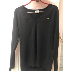 Crni Lacoste pulover