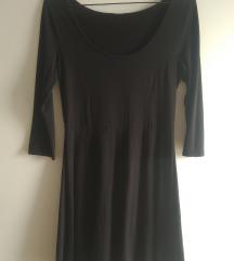 Basic crna haljina