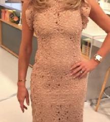 Zara nude haljina