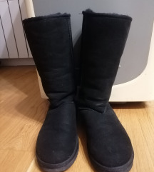 Ugg classic tall crne