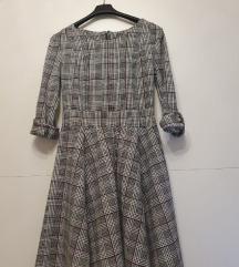 Karirana haljina - 60