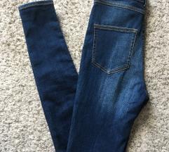 Monki visoki struk skinny jeans traperice W25