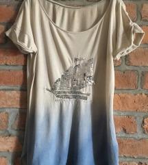 POKLANJAM Zara sequin jedrenjak majica