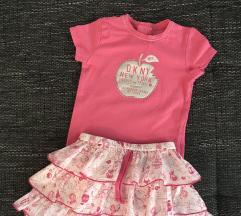 DKNY baby majica i suknjica