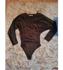 Pull&Bear body majica na preklop