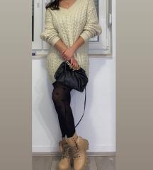 Zara knit dzemper / pletena haljina