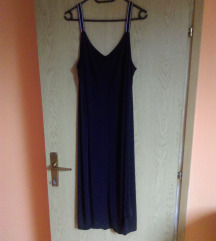 NOVA Crna midi haljina L/XL