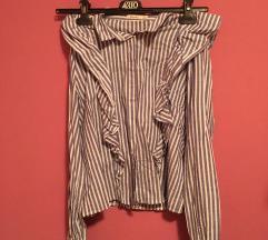Bershka prugasta košuljica S/XS