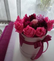 Pinky Fuksija  Poklon Dekor kutija