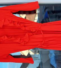 Gant haljina na preklop