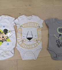 Lot bodi za bebe, 3 kom