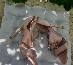 Zara satenske sandale