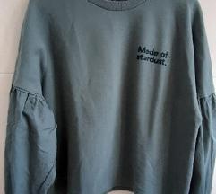 Zara neobicna majica, tamnozelena