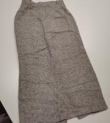 Pencil duga suknja bukle
