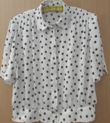 Vintage košulja sa točkicama za vel L