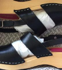 ❤️ SWEDISH HASBEENS nove kožne sandale ❤️