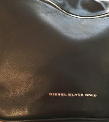 DIESEL BLACK GOLD kožna torba