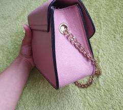 Mala roza torbica like Furla