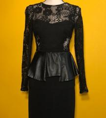 Zara haljina xs crna