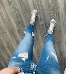 Baggy jeans ženske traperice