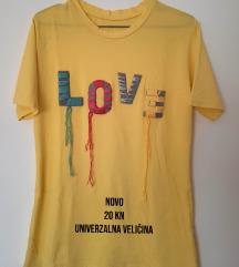Žuta majica kratkih rukava (NOVO)