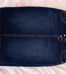 Midi traper suknja