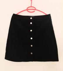 Crna mango suknja