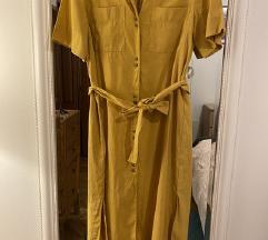 Mango žuta košulja haljina