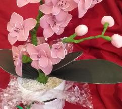 Orhideja ručni rad