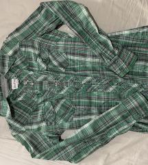 Zelena karirana košulja