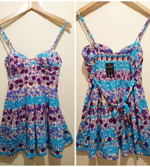 SNIŽENO! Nova cvjetna haljina+ poklon ogrlica