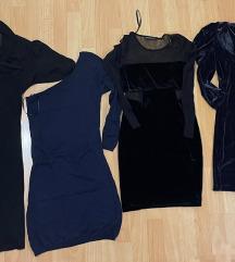 LOT 👗4x mini haljina  XS