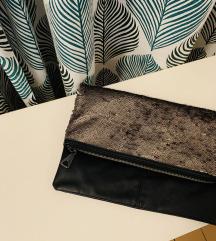 Nova Mango crna ručna torbica