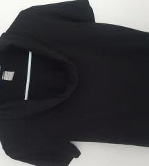 Kraća crna majica M
