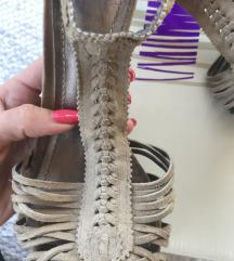 BATA kožne suede sandale