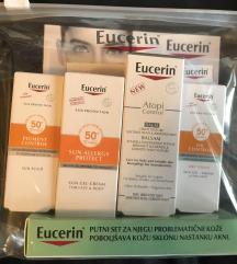 Novo EUCERIN lot krema za lice balm, fluid spf