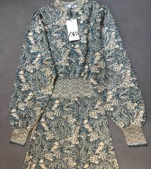 Zara haljina od zakarda
