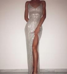 Srebrna haljina duga   Rezz