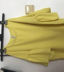 Žuta stradivarius bluza