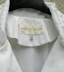 bijela svečana bluza vel 44/46