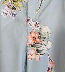 Cvjetne duge svilene hlače