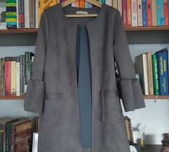Kaputić blazer brušena koža