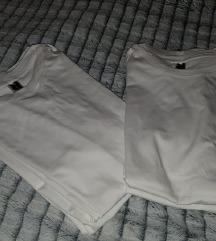 ⛔Pamučne bijele nove majice lot