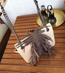 MY LOVELY BAG krem bijela torba / NOVO