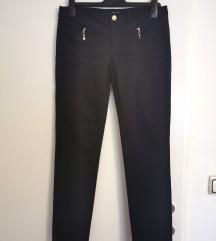Massimo Dutti tamnoplave hlače s uklj.pt.