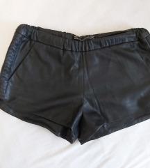 Kožne hlačice Zara