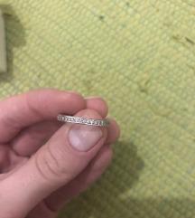 Pandora prsten sa srcima i cirkonima